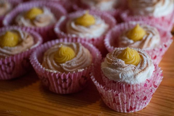 Brazo de Mercedes cupcakes