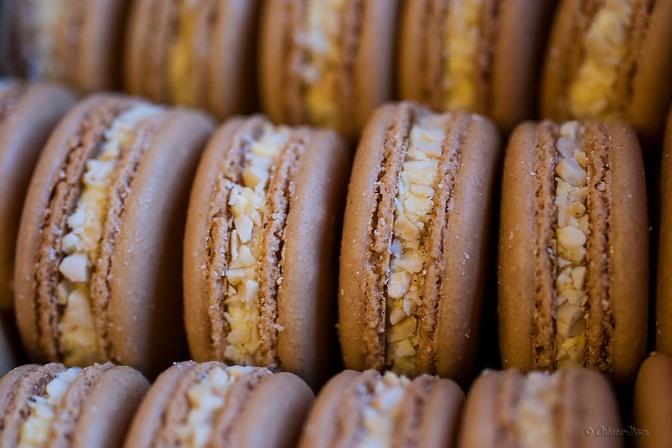 Filipino-inspired flavors: Sans rival macarons