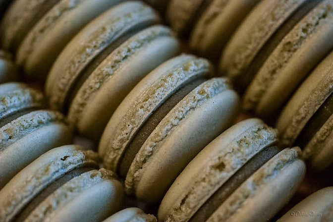 Asian-inspired flavors: Matcha green tea macarons